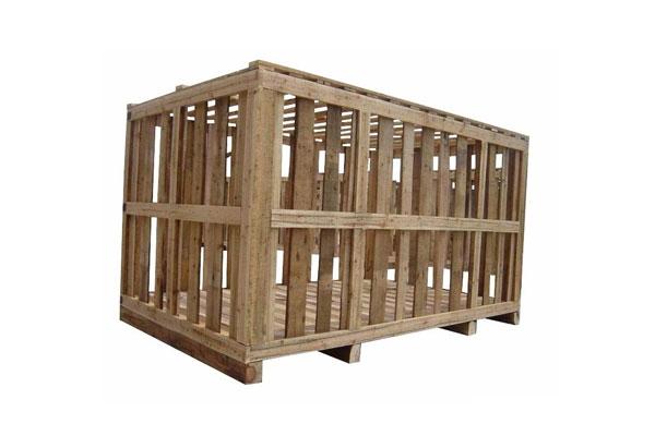 木条花格包装箱